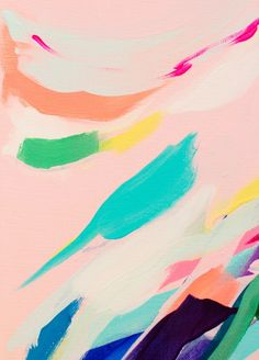 Wild Ones #3 - abstract painting Art Print