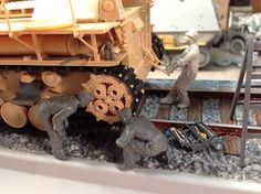 Morser Karl Gerat Rail Transported Gun by Mike Ragonese.