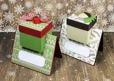 Truffle Box Place Cards |