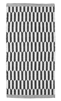 Aspegren-rug-hexagon-black-web www.aspegren.dk Rug Runner, Rugs, Runners, Black, Decor, Carpet Design, Farmhouse Rugs, Hallways, Decoration