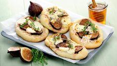 Feigen-Schafskäse Pizza