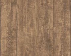 Behang planken hout warm bruin 7088-23 A.S. Creation
