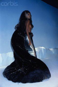 1986-87 - Thierry Mugler show - Iman