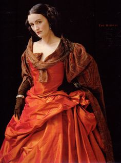 The Heiress  NYT Fashion Magazine 1994 Photographs by David Seidner, Dress by Vivienne Westwood and shawl by Patricia Pastor Vintage fashion