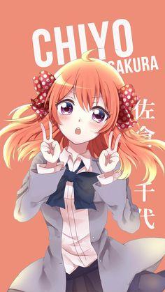 Chiyo Sakura ~ Korigengi | Wallpaper Anime