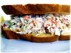 recipe: shrimp salad melt [4]