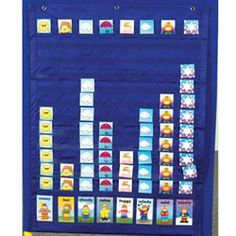 Weather Graphing Pocket Chart More
