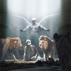 Angelic Support and Protection ~ Daniel 6:22 ...jw.org for more Bible educational materials...