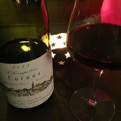 Repas en amoureux #Cornas de @domainecourbis #sidneybechet en fond sonore... La #résistance de #paris :-) by tom2185 #wine #spirits