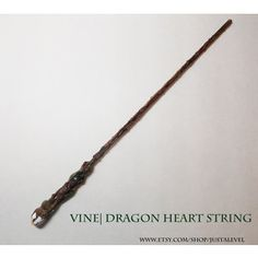 Meadow Harry Potter Inspired Wand (Vine Dragon Heartstring)