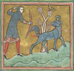 BL Royal 12 F XIII The Rochester Bestiary