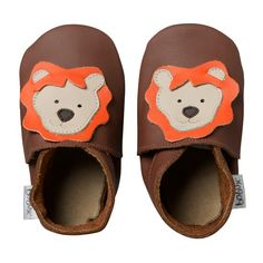 soft sole chocolate lion | Bobux