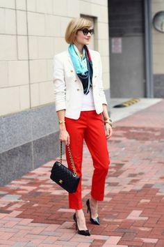 White-double-breasted-zara-blazer-black-silk-square-lust-scarf_400