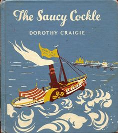 The Saucy Cockle is a children's picture book by Dorothy Craigie. Dorothy Craigie was the pseudonym used by the artist Dorothy Glover. Glover is best remembered now as the one-time lover of Graham Greene with whom she lived for almost ten cover Best Book Covers, Vintage Book Covers, Beautiful Book Covers, Book Cover Art, Vintage Children's Books, Book Cover Design, Book Design, Leather Book Covers, Book Jacket