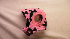 sporty pink dog hat