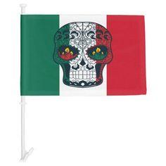 mexican flag colors tattoo sugar skull tshirt mexican tattoo