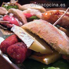 Montaditos y bocadillos variados » Divina CocinaRecetas fáciles, cocina andaluza y del mundo. » Divina Cocina