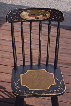 Old Bayberry Tavern Farmhouse Chair - Pattern