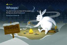 404 page - jackrabbit