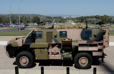 Bushmaster would be used by the Australian Defence Force to transport troops into battle and provide protection against land mines, mortars . Land Mine, Australian Defence Force, Army Vehicles, World Of Tanks, Military Equipment, Troops, Ranger, Armour, Transportation