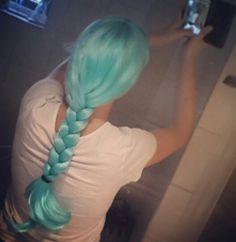 Wig from casper from the waterprins #tekening #manuscript #auteur #tekening #manga #illustratie #boek #book #cosplay #wig #blue