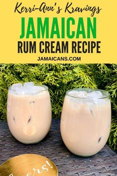 Jamaican Rum Cream Recipe, Jamaican Rum Punch Recipes, Jamaican Desserts, Rum Recipes, Alcohol Drink Recipes, Cocktail Recipes, Margarita Recipes, Greek Recipes, Drinks Made With Rum