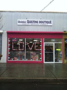 New Window Front Just in Time for Valentine's !!!! Share the Love stop and see us at 176 Main St Norwalk, CT 06851