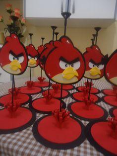 Centro de Mesa Angry Birds em E.V.A.