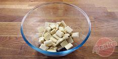Ganache Pistache - Mettre le chocolat en morceaux dans un bol