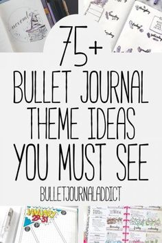 Bullet Journal Themes and Ideas - Bullet Journal Ideas for Monthly Themes - 15 T. - Bullet journal İdeas in 2019