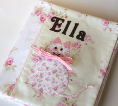Quiet Book Sew Along...lots of skill builders for toddler...snaps, velcro, counting and more