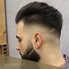 Luce tu look #barber con una raya marcada con cuchilla   Apuesta por las últimas tendencias  Pic : @blackbird.concept   #SalermCosmetics #SalermHomme #Barber #Barbershop #Hair #Hairdresser #Estilista #Cabello #Hair #Tendencias #Corte #HairGoals #HairInspo #HairInspiration #HairCare #InstaHair #HairOftheDay #Hairstyle