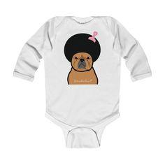 Afro Baby Long Sleeve Bodysuit
