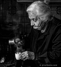 Coffee maker Photo by George Vardakis -- National Geographic Your Shot Face Mapping, Old Trees, Simple Photo, Photo B, Beautiful Dream, National Geographic Photos, Your Shot, Crete, Amazing Photography