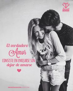 El verdadero amor! #Frase #amor #pareja #Couple #Quote #Love