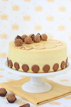 Wiem co jem Chocolates, Torte Cake, Polish Recipes, Sweet Desserts, Coffee Cake, Vanilla Cake, Fudge, Cake Recipes, Sweet Tooth