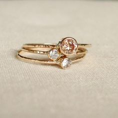 Tiny Stack Rings