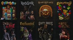 Some of the slot games availabe on Rockbet casino