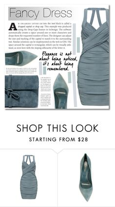"""""""Color Collection: Fancy Dress Green Grayish Edition"""" by montcastanon ❤ liked on Polyvore featuring Sergio Rossi and Lulu*s"""