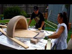 Pizzaofen im Garten selber bauen - Bauanleitung