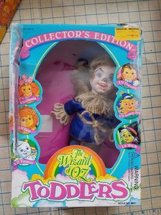 The Wizard of Oz Toddler's Lil SCARECROW Collectors Edition 1993 Sky Kids w Box