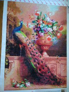 5D DIY Diamond Painting Animal Diamond Mosaic Cross Stitch Full Square – Ezbuypay Mosaic Crosses, Peacock Art, Diamond Paint, Good Morning Wishes, Animal Paintings, Different Colors, Cross Stitch, Embroidery, Canvas