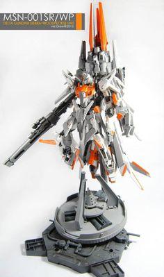 Delta Gundam Sierra + Woodpecker Support Unit: Custom Work by Dree. Photoreview No.17 Big Size Images http://www.gunjap.net/site/?p=238811