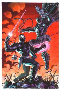 Batman vs Grendel....llll