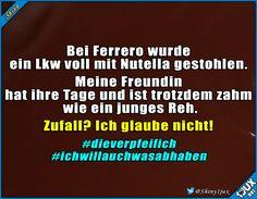 Vielleicht gibt's ja eine Belohnung. #Nutella #Ferrero #Marburg #Nachrichten #lustiges