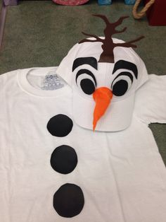 Olaf costume fun and quick to make!!!