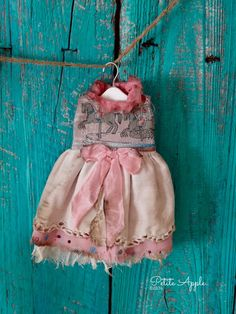 Blythe doll outfit *Carousel ride* decadent style dress  by marina, $60.00 USD