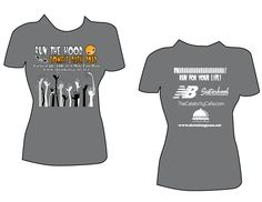 Run the 'Hood Zombie Dash Virtual 5K/10K/Kids' Run tees! Last chance to register is TODAY, October 7th. http://zombiedash.eventbrite.com