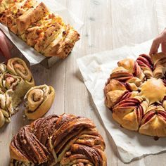 Basic Pull-Apart Bread Dough Easy Sourdough Bread Recipe, Bread Dough Recipe, Bread Recipes, Cooking Recipes, Pull Apart Bread, Our Daily Bread, Monkey Bread, Let Them Eat Cake, Food To Make