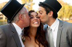 micheal segal weddings {top hats drive me wild}